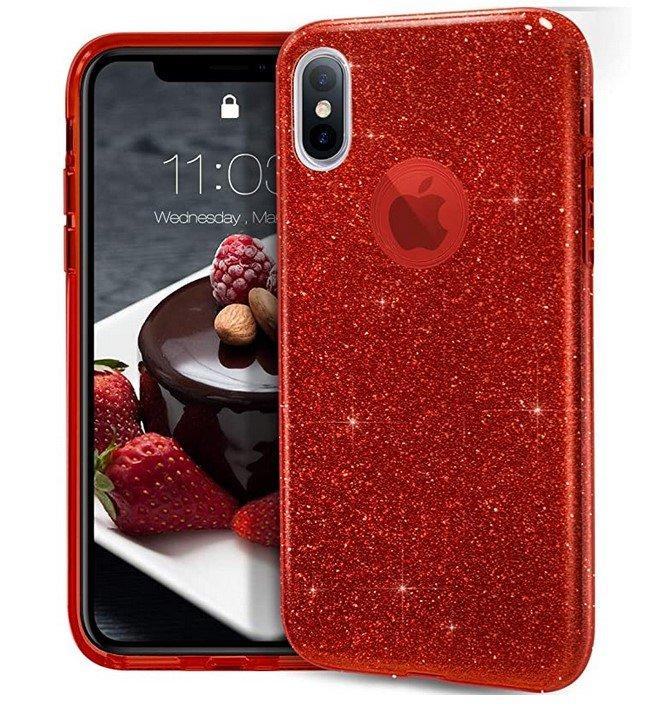 Coque Triple Iphone X / Iphone XS, Rouge