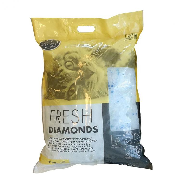 Litière fresh diamonds 15L - 7kg
