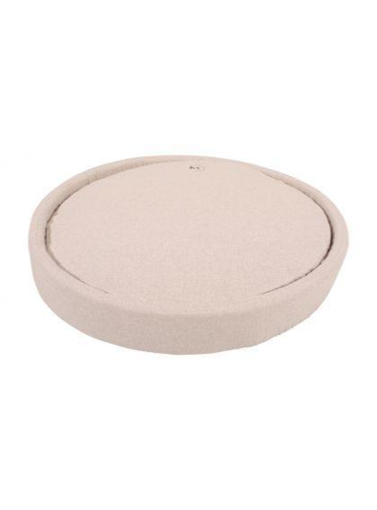 Coussin rond Milano beige - T70