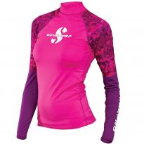 Lycra rash guard rose femme upf50, MT