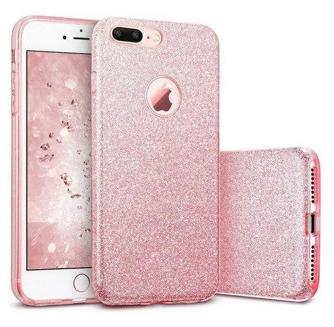 Coque Triple Iphone 7+ / 8+, Rose