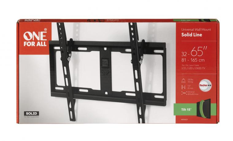 """Support mural inclinable 32-60"""" pr tv"""