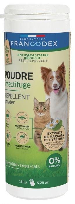 Poudre insectifuge chiens & chats