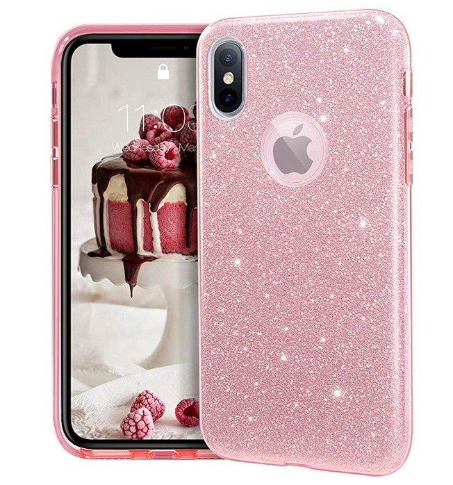 Coque Triple Iphone X / Iphone XS, Rose