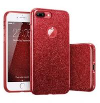 Coque Triple Iphone 7+ / 8+, Rouge