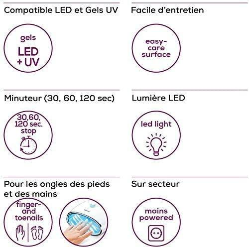 Sèche ongles UV/LED