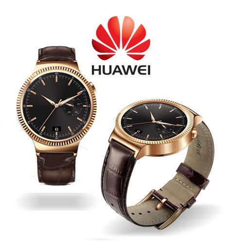 MONTRE HUAWEI PLAQUE OR