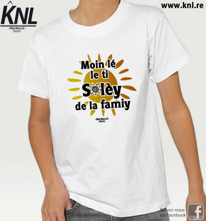 #11 Ti Soley - Tee-shirt Enfant - Blanc, 5-6 ans