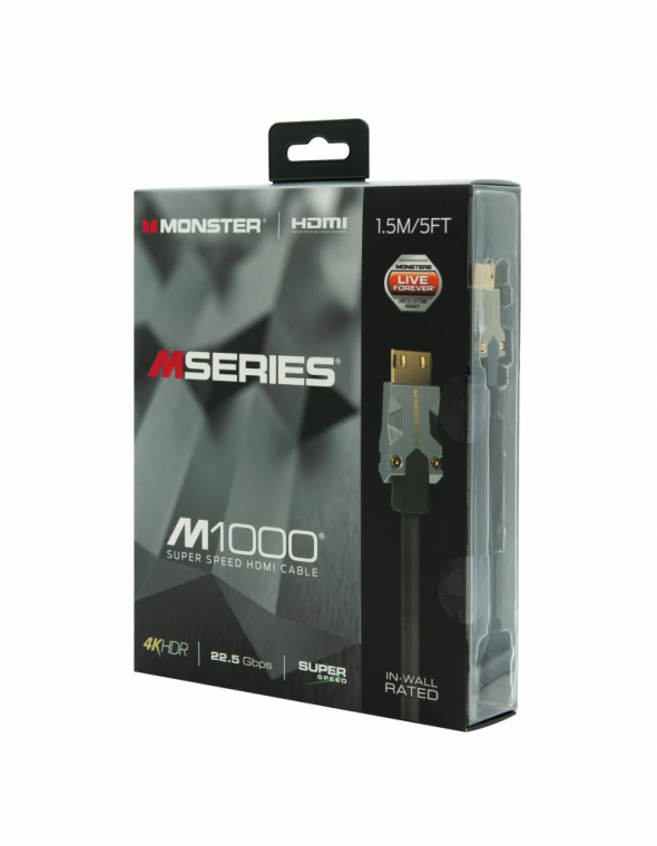 MONSTER CABLE HDMI 1M5